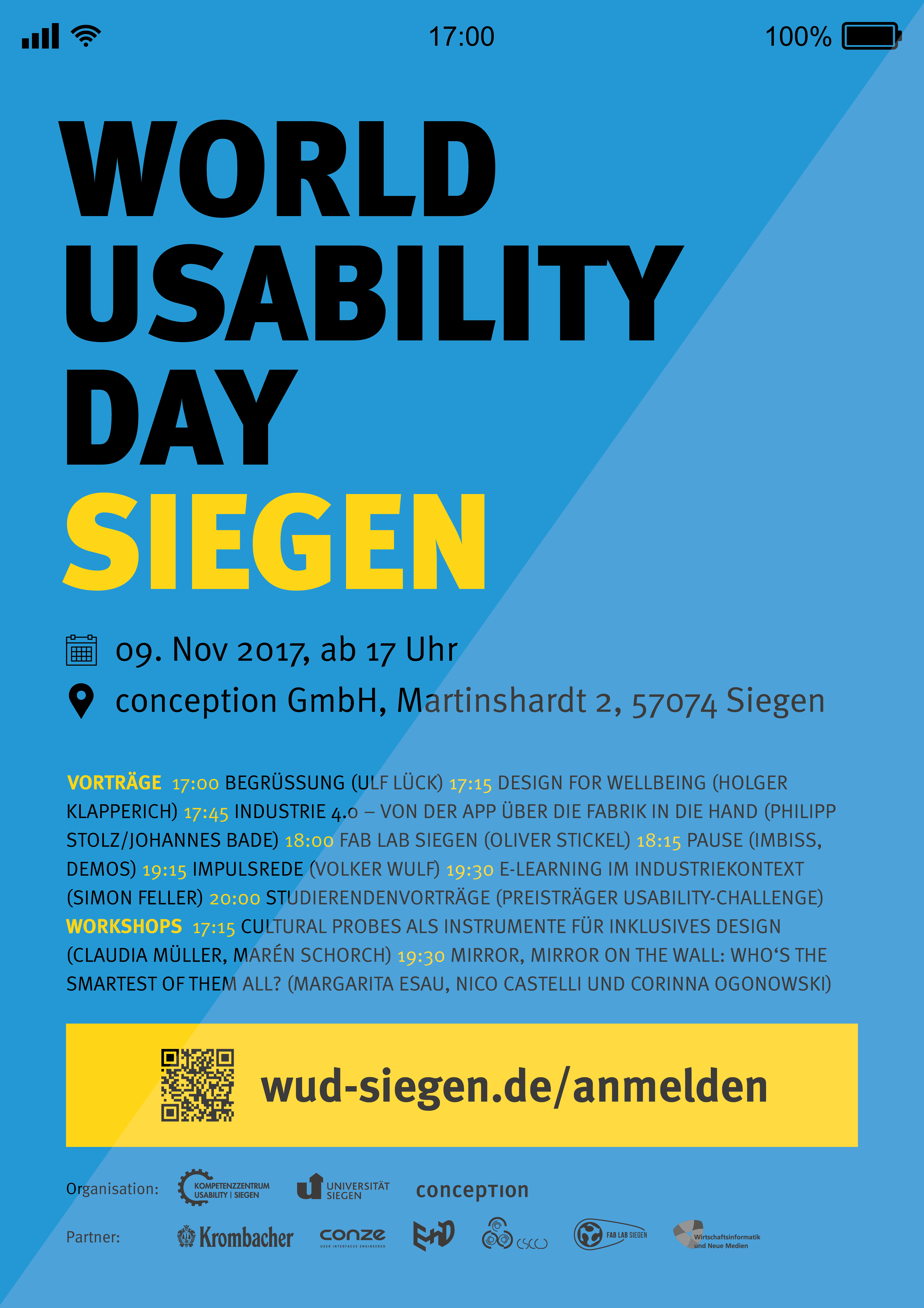 World-Usability-Day 2017 Siegen